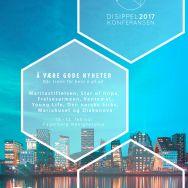 Plakat gjort for F2, NMS U og NMS. Disippelkonferansen 2017. Logo er laget av Kristian Mjølsneset.